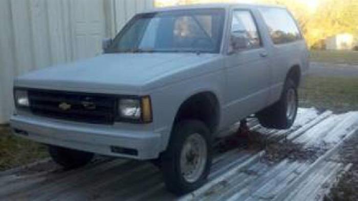 1986 Chevrolet Blazer 1