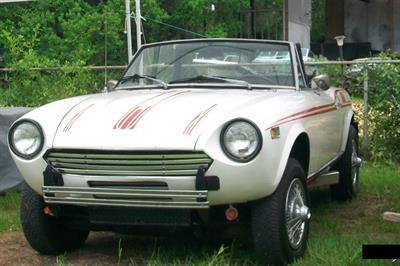 1974 Fiat Convertible