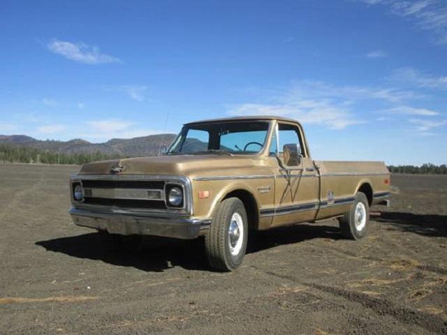 1969 Chevrolet 3/4 Ton 10