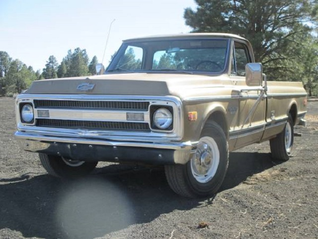 1969 Chevrolet 3/4 Ton 5