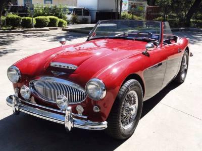 1962 Austin Healey MKII Convertible