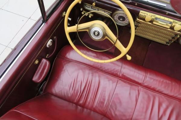 1942 Lincoln Continental 13