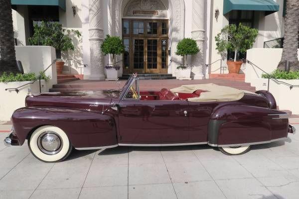 1942 Lincoln Continental 14