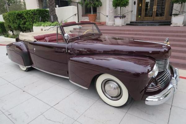 1942 Lincoln Continental 1