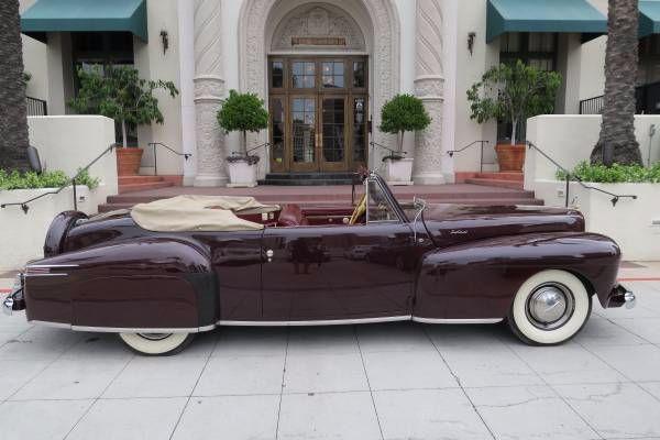 1942 Lincoln Continental 3
