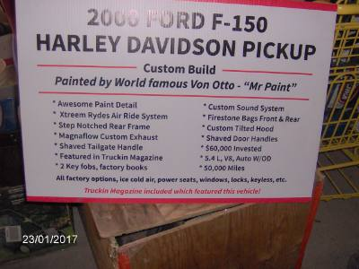 2000 Ford F150 Harley Davidson