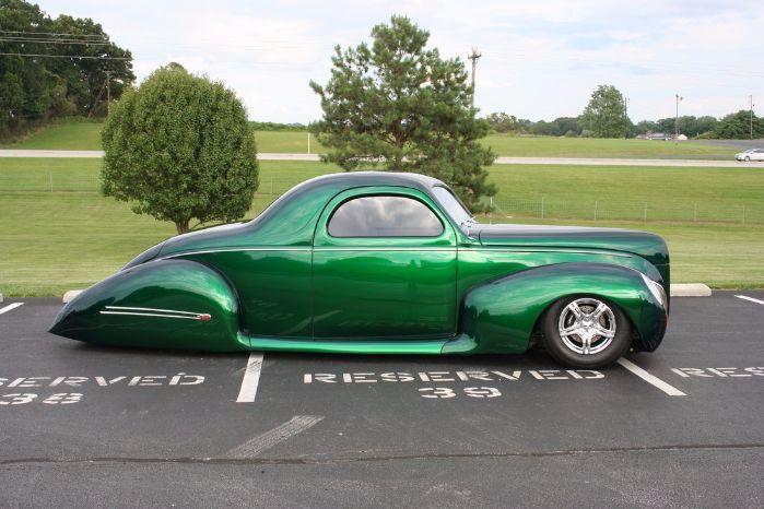 1939 Lincoln Zephyr 8