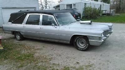 1965 Cadillac Hearse