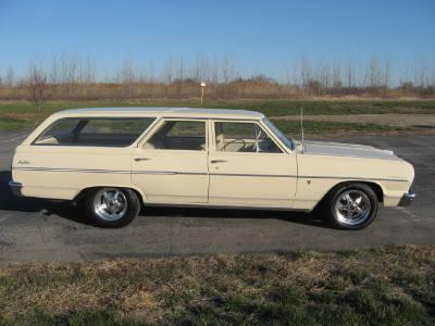 1964 Chevrolet Malibu Station Wagon