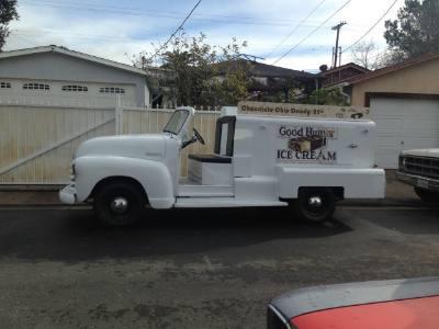 1953 Chevrolet Ice Cream Truck