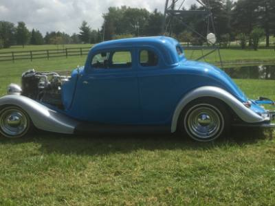 1934 Ford Coupe 5 Window