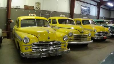 1946, 1949 and 1950 Plymouth and Dodge Taxi Cabs