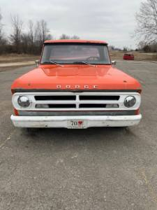 1971 Dodge D150 Short Bed
