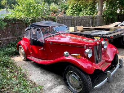 1952 MG Convertible