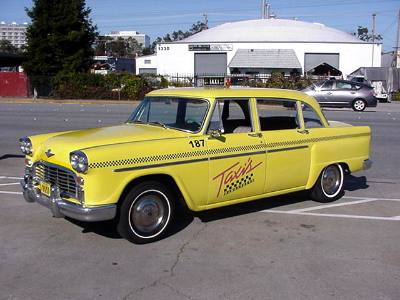 1965 Checker Taxi Cab