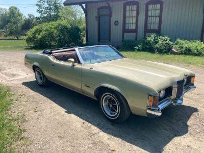 1971 Mercury Cougar Convertible
