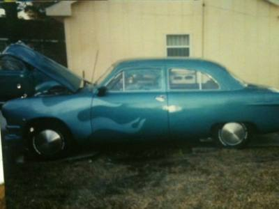 1950 Ford Bussiness Coupe