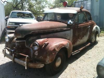 1940 Chevrolet Master Deluxe Police Car