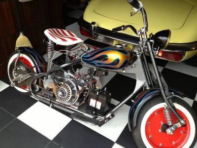 1955 Cushman Mustang