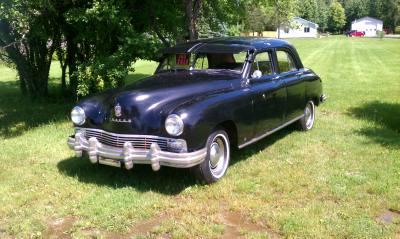 1948 Frazer 4 Door Sedan