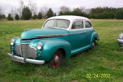 1941 Chevrolet 2 Door