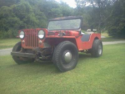 1949 Willys Jeep CJ2A