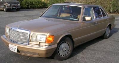 1987 Mercedes Benz 550SEL