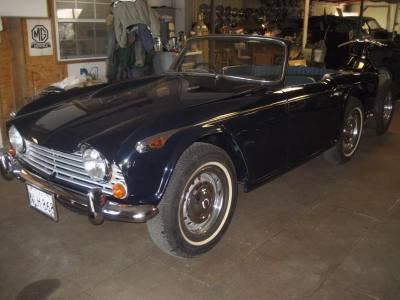 1966 Triumph Tr4 AX
