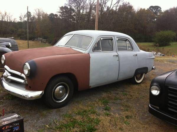 1950 Ford 4 Door Sedan 1