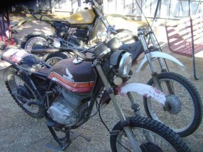 1978 Honda XL 350cc