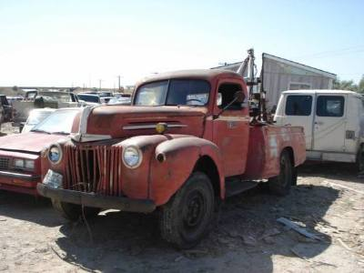 1946 Ford Wrecker