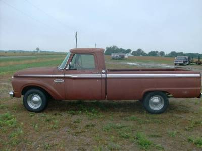 1966 Ford Rancher F100