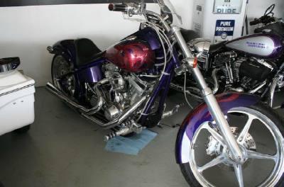 2003 Big Dog Motorcycle