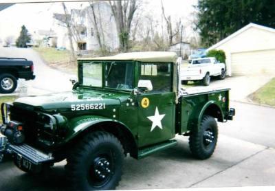 1955 Dodge Power Wagon M37