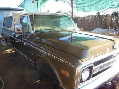 1971 Chevrolet Camper Special