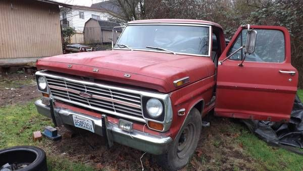 1969 Ford F 250