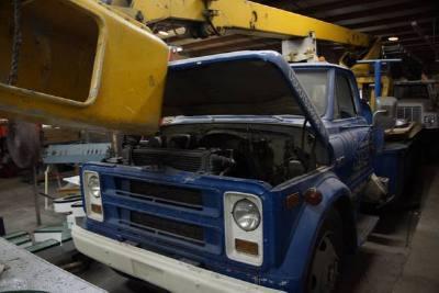 1972 Chevrolet C50 Bucket Truck