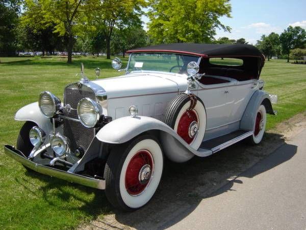 1931 Cadillac Fleetwood 1
