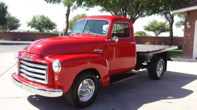 1950 GMC Flat Bed