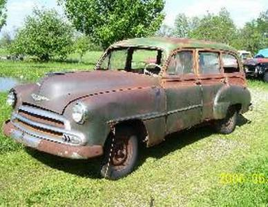 1952 Chevrolet Station Wagon Woody