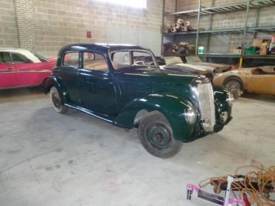 1952 Mercedes Benz 220