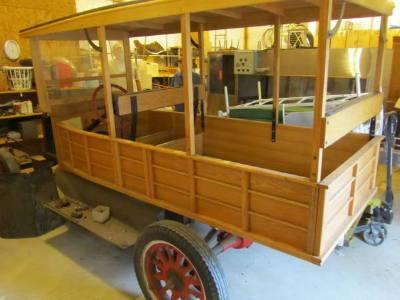1920 Ford Model T Huckster