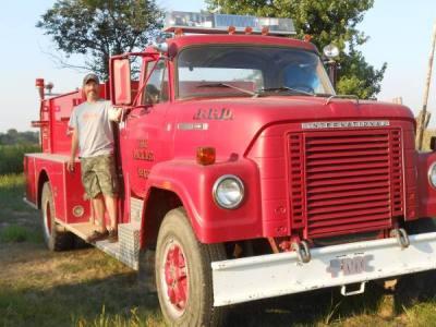 1977 International Fire Truck