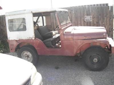 1954 Jeep DJ5