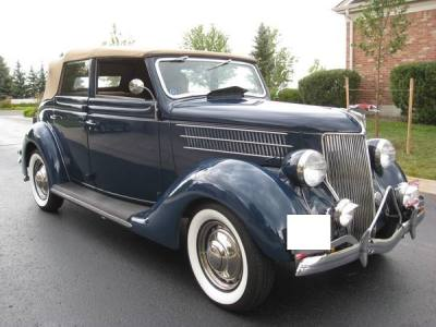 1936 Ford 4 Door Convertible