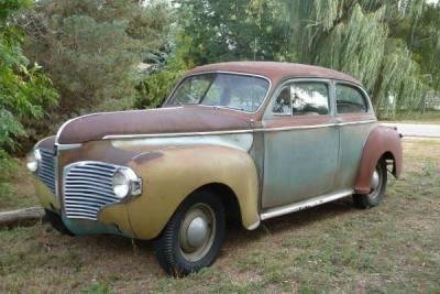 1941 Dodge 2 Door Sedan