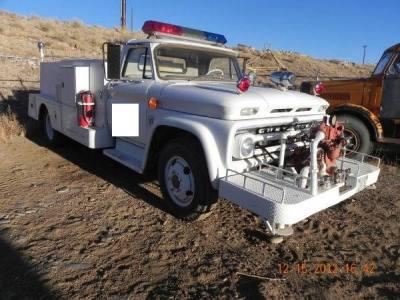 1964 Chevrolet C60 Fire Truck