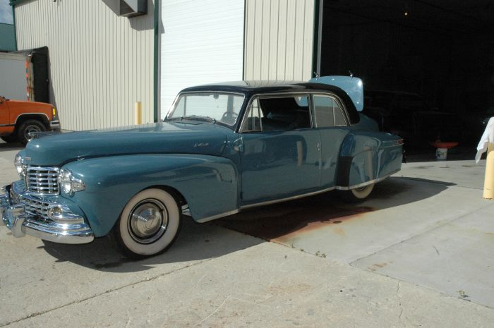 1947 Lincoln Club Coupe 1