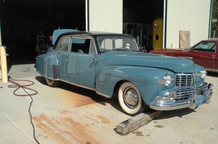 1947 Lincoln Club Coupe 2
