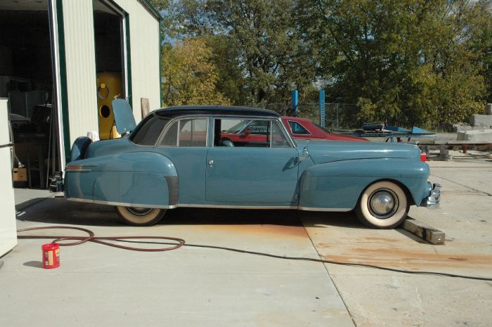 1947 Lincoln Club Coupe 3